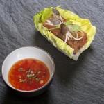 Receta «Cueta» o Andito del Valle con salsa oriental